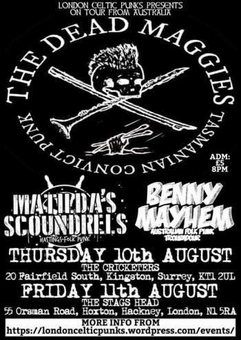 30492 LONDON CELTIC PUNKS WEB-ZINE | Ten years promoting Celtic-Punk