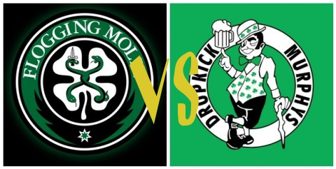 Flogging Molly vs Dropkick Murphys