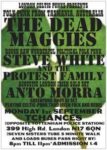 the dead maggies