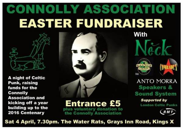 Connolly Association Benefit Gig