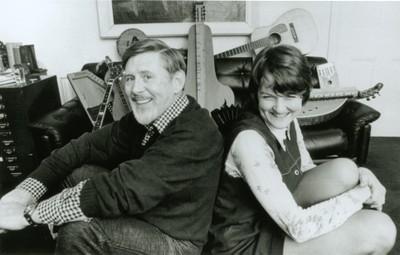 Ewan MacColl and Peggy Seeger