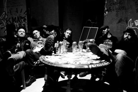 from left to right...Chris Klinck, Natchet Taylor, Dylan Karn, Trevor Wiseman, Robert Williamson.