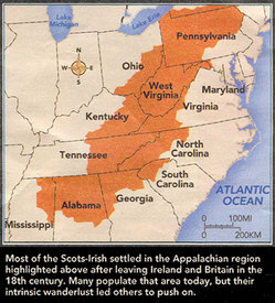 Scottish-Irish settlement in America