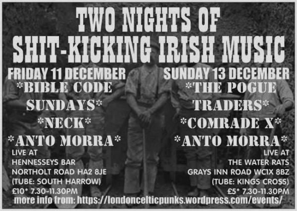 London Celtic Punks Gig History | 30492 LONDON CELTIC PUNKS WEB-ZINE