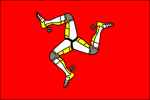 Flag Isle Of Man