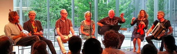 Mekons at the Poetry Foundation July 2015