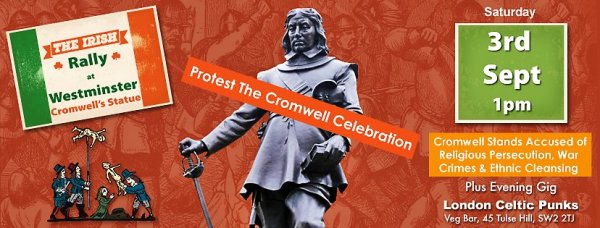 Protest Cromwell