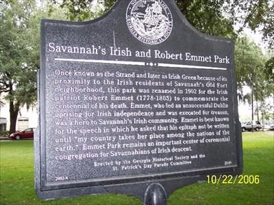 savannah-irish