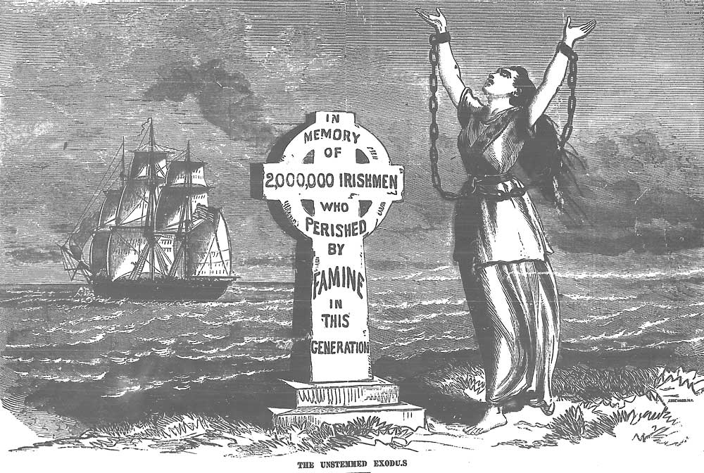 AN ARGUMENT THAT THE IRISH FAMINE WAS GENOCIDE |